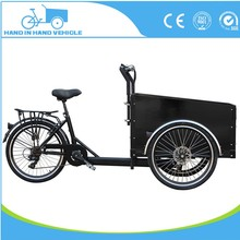 Open Body Type tricycle Front-Load-Utility-Tricycle Vender-Bike for sale