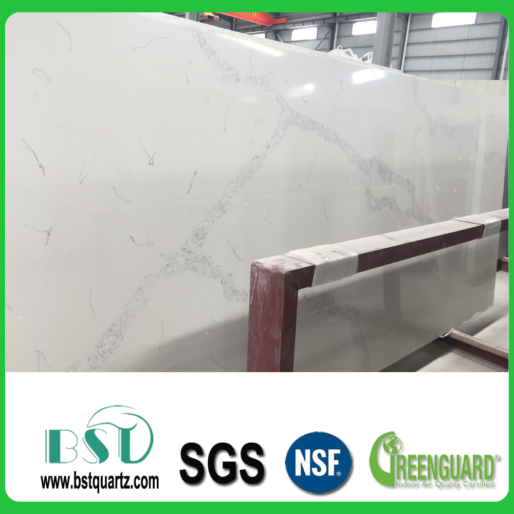 Wholesale Statuary White Quartz Stone Slabs,Quartz Stone