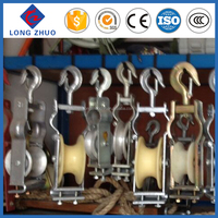 Stringing equipment cable roller & Cable pulley & Cable block and track