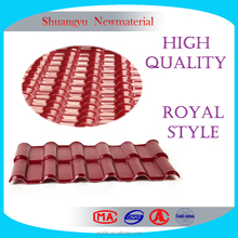 Quality Guarantee Spainish Plastic Roof Resin Tile