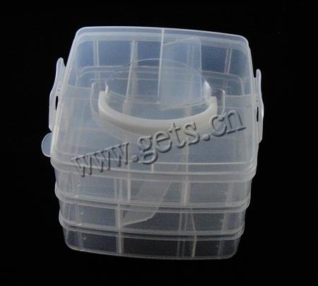 Plastic Rectangle Plastic Bead Set 387933