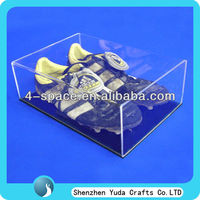 Clear Acrylic Case for Boots shoe display box