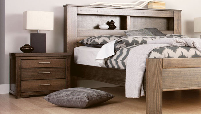 Asian Style Ethnic Ash Bedroom Furniture