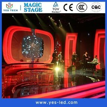 full color outdoor p6 curved led display screen price