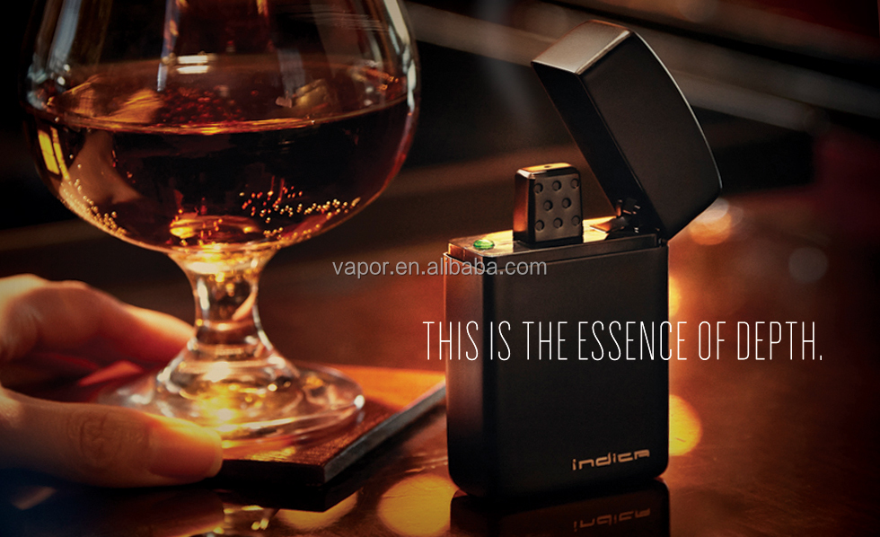 dry herb Vaporizer Mod Indica Zippo Shape Five temperature settings