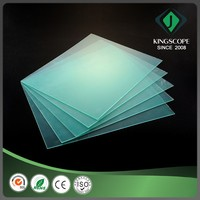 Factory sale weather-resistant transparent rigid plastic pvc sheet