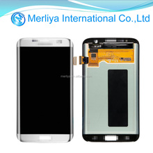 Wholesale touch screen digitizer replacement parts display assembly original lcd for samsung GALAXY S7 Edge/G935A/G935F/G935T