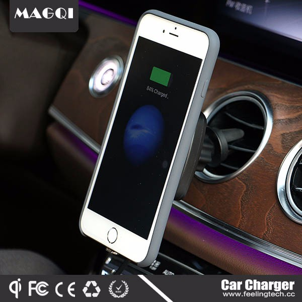 2017 New Arrival air vent mount car gadgets with magnet induction