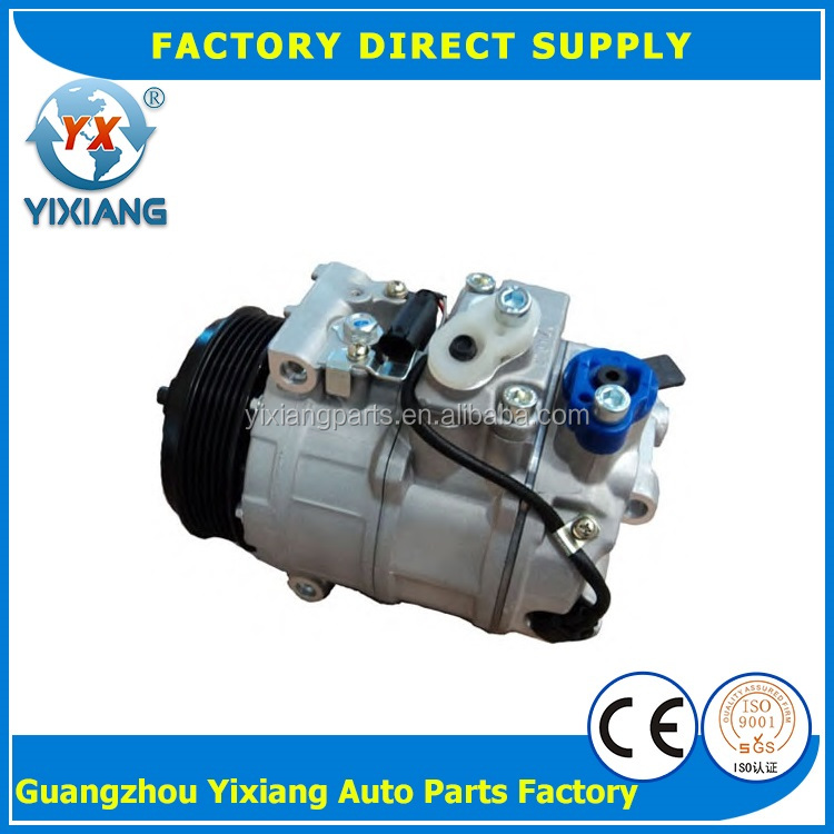 Electric Car Auto Air Conditioning 7SEU16C Compressor For Benz 0002309011 0012302811