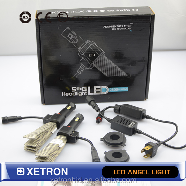 Super Bright G5 H11 H7 40W CAR LED headlight Kit with Copper belt, 5S+ LED Headlight