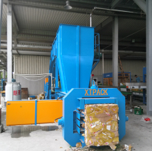 Economic and Reliable corn straw baler cob bagging machine