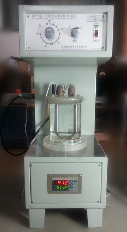 PCY-DL-100 Exposy resin ring and ball softening point tester