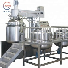 Vacuum emulsifying machine emulsifiers phaco machine mixer blender homogenizer for sale