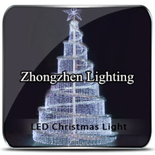 good quality led lighted metal christmas tree