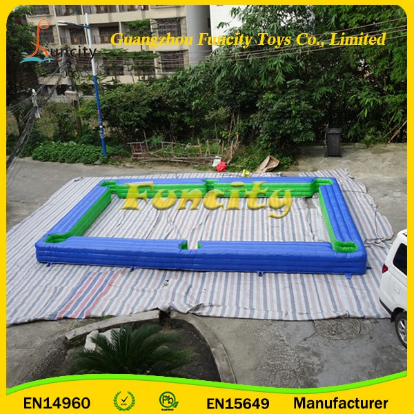 Customized Size Inflatable Snooker Table , Inflatable Human Pool Table for snookers