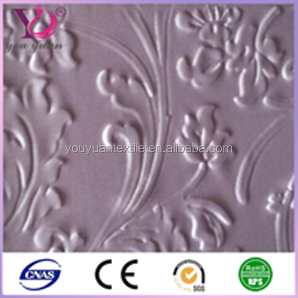 knitted floral nylon spandex guipure lace dress fabric