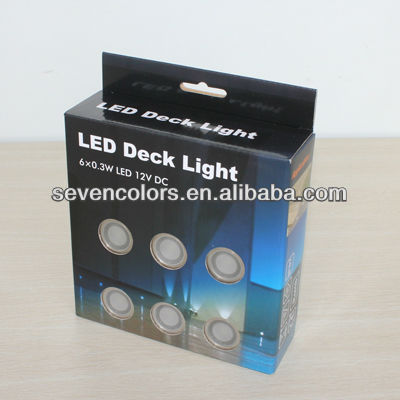 30mm Mini Deck Lamp LED Oudoor Decor Lamp Set of 6 (SC-B105B)