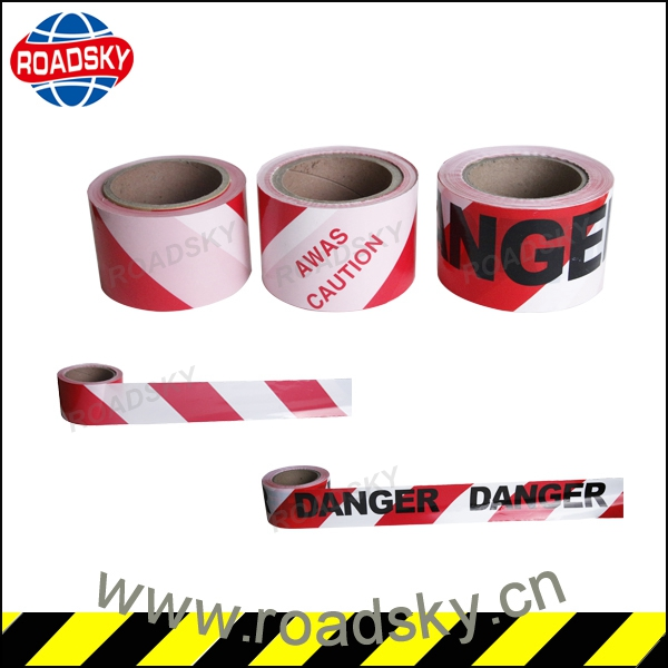 Road Safety Custom Pe Warning Barrier Tape