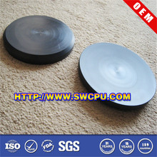 Black flat plastic circles on sale