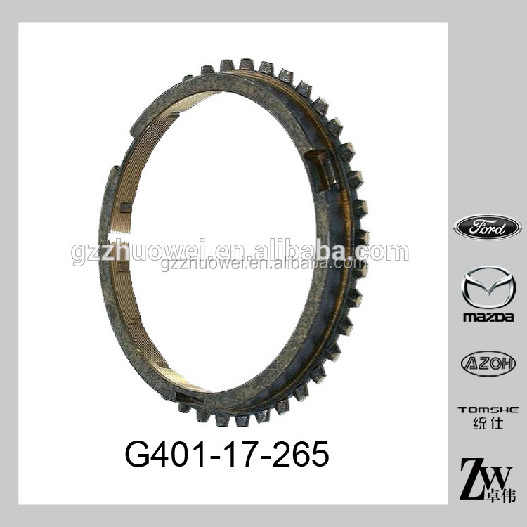 Genuine Engine Parts Auto Transmission Synchronizer Ring For Mazda 626 G401-17-265