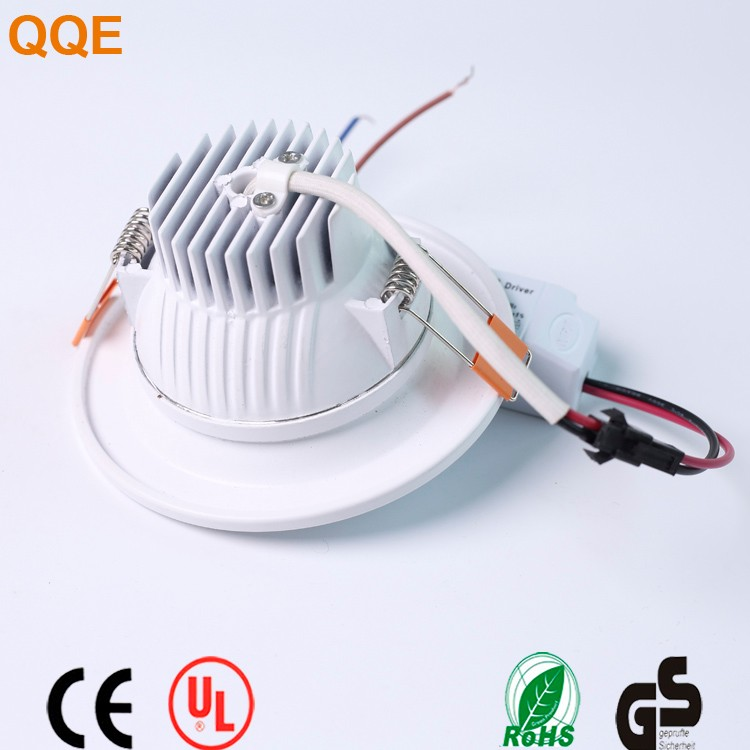 China 2017 new design hot best sellers of aliexpress dc 12v rgb cob chip ultra thin 7w led downlight