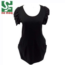 New fashion casual summer short sleeve party dress women clothing