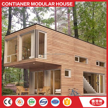 luxury prefab steel villa shipping container coffee shop assembled houses