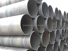 Tope quality x42/x52/x60 api 5l gr.b spiral steel pipe/ssaw made in China