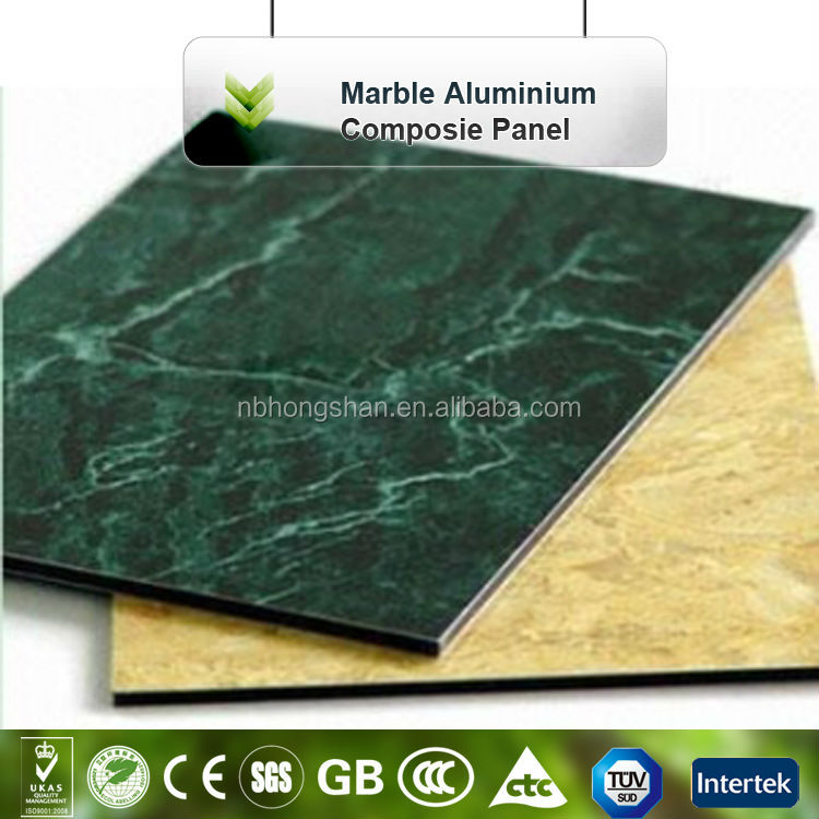 Marble/ Stone Finish Aluminum Composite Panel ACP/ Composite Wall Insulation Panels
