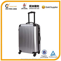 Silver travel trolley bag made in China