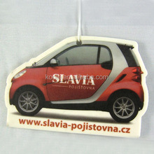 Car shaped paper air freshener for air conditioners