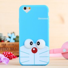 Shenzhen diy cartoon character silicone cell mobile phone shell case for iphone