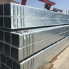 Hot dipped galvanized square steel tube with zinc coating 220g/m2