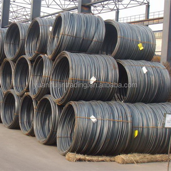 alibaba whosale sae 1008 1006 steel wire rod /low carbon steel wire rod