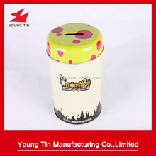 wholesale metal tin money piggy bank coin tin can box