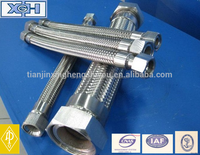 "1/2"" dn13 stainless steel flexible metal hose/tube/pipe/nipples"