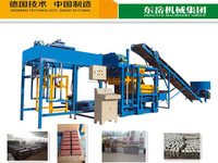 QT4-25 full automatic brick machine making production line
