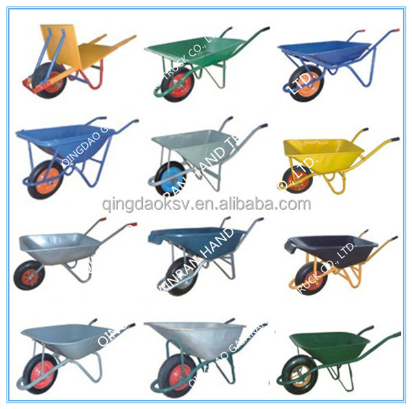 Hot sale decorative garden wheelbarrowsteel rim for Gardening tools jakarta