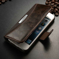 Vintage book style leather wallet case for iphone 5 , book style case for iphone5, purse cover for iphone 5