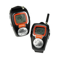 Fashion Wrist Walkie Talkie Toy Watch 462MHz-467MHz Freetalker kids Watch Walkie Talkie