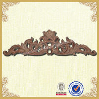Palace style wall decoration red wood carved wall decoration