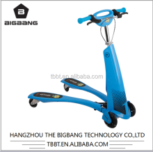 HANGZHOU THE BIGBANG foot pedal scooter sliding car push car frog kick scooter for children wholesale