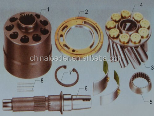 Spare Parts For EATON VICKERS PVM018/020/045/050/057/063/074/081/098/106/131/141Hydraulic Pump