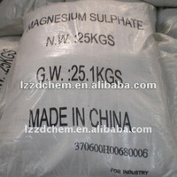 magnesium sulfate heptahydrate 98% ,99%,99.5% for fertilizer