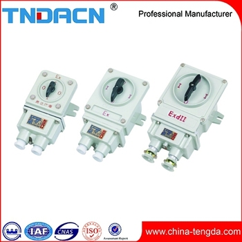 BHZ51 Series explosion-proof transfer switch ( IIB,IIC )