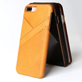Newest Design 360 Degree Shockproof Leather Back Cover Case for iPhone 7