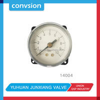 JUNXIANG lower price Miniature Bourdon tube pressure gauge