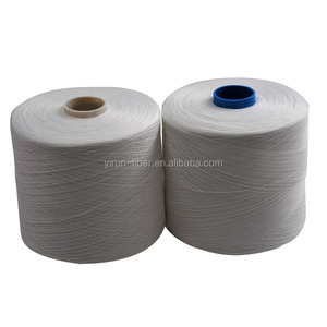 100% polyester spun yarn for sewing thread,white, 40s/2,50s/2,60s/2