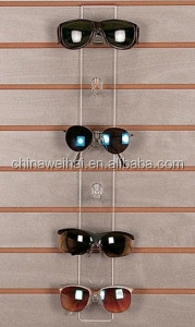 Wall Mounted Acrylic Glasses Holder