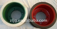 10'' NBR paddy husker rubber roller in rice mill.